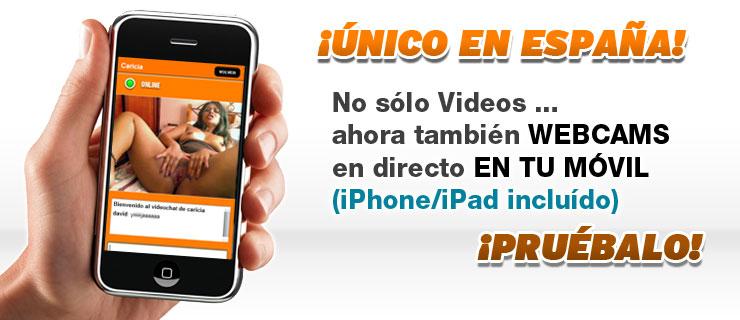 Primicia Exclusiva: Ahora también puedes usar las webcams en tu móvil!